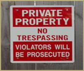 Criminal Tresspass