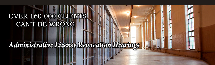 Administrative License Revocation Hearings